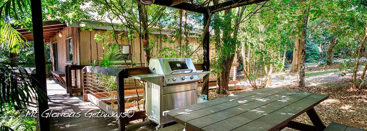 Blue Wren Cottage Entertainment Area
